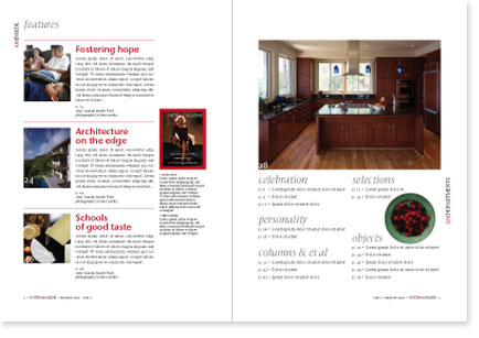 Masthead, Magazine Layout And Cover Design